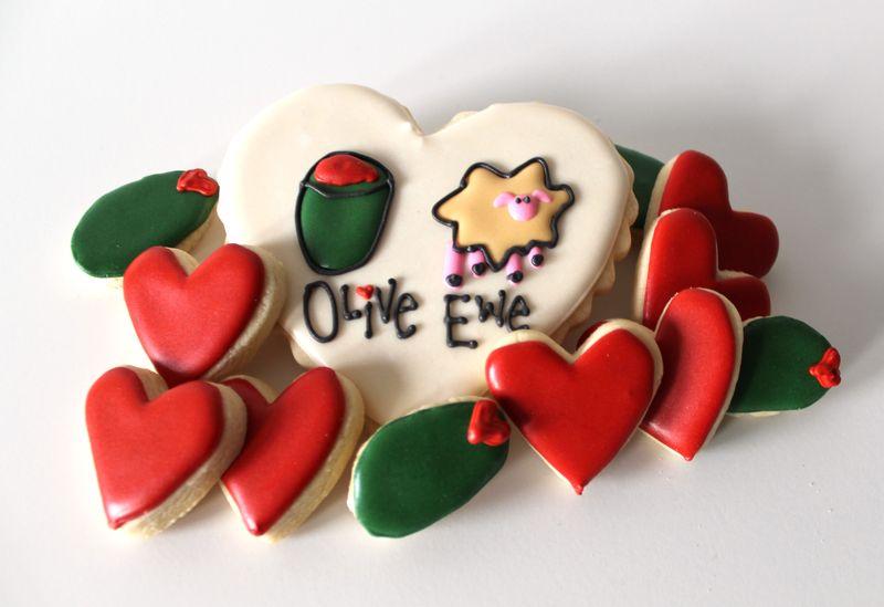 Olive Ewe Cookies   The Crafting Foodie