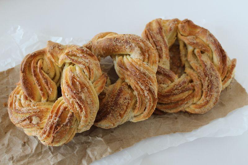 Cinnamon:Cardamom Coffee Cakes | The Crafting Foodie