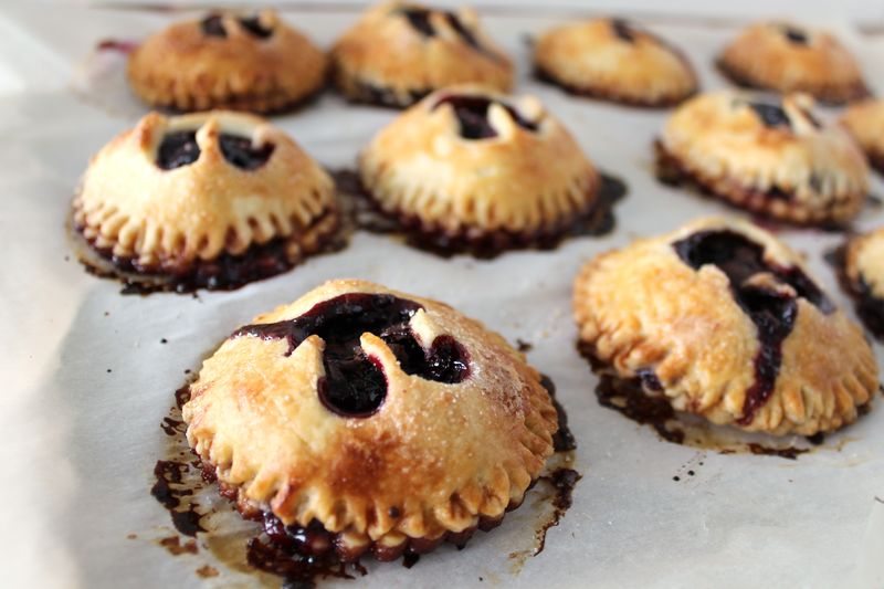 Cherry Dark Chocolate Hand Pies Recipe | The Crafting Foodie