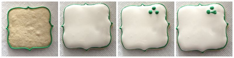 St. Patty's Clover Cookies   The Crafting Foodie