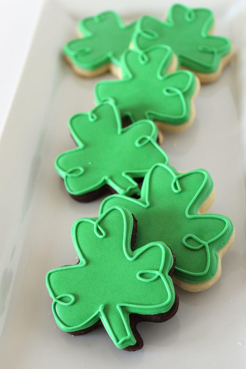 St. Patricks Day Rainbow Cookies