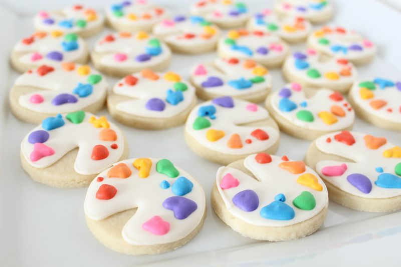 Decorated Cookies for Teachers | The Crafting Foodie